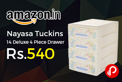 Nayasa Tuckins 14 Deluxe 4 Piece Drawer