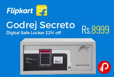 Godrej Secreto Digital Safe Locker