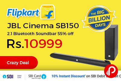 JBL Cinema SB150 2.1 Bluetooth Soundbar