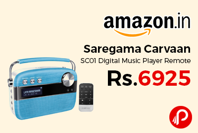 Saregama Carvaan SC01 Digital Music Player Remote