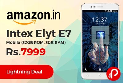 Intex Elyt E7 Mobile