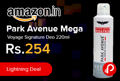 Park Avenue Mega Voyage Signature Deo 220ml