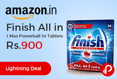 Finish All in 1 Max Powerball 34 Tablets