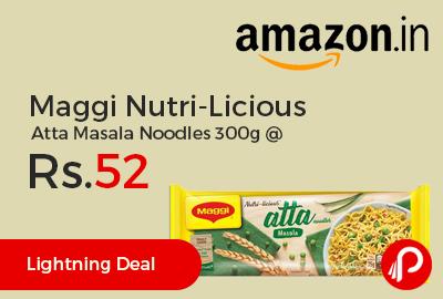 Maggi Nutri-Licious Atta Masala Noodles 300g