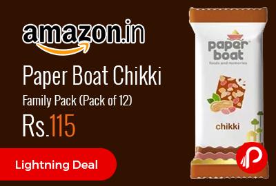 Paper Boat Chikki Family Pack