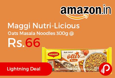 Maggi Nutri-Licious Oats Masala Noodles 300g