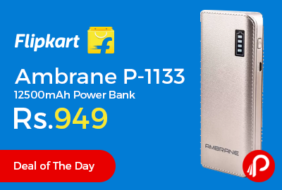 Ambrane P-1133 12500mAh Power Bank