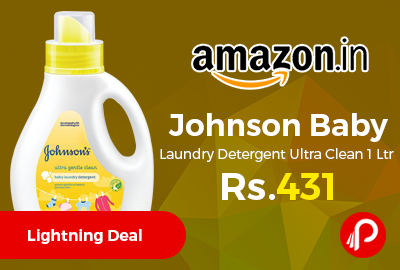 Johnson Baby Laundry Detergent Ultra Clean 1 Ltr