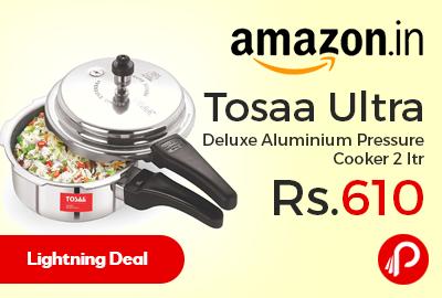 Tosaa Ultra Deluxe Aluminium Pressure Cooker 2 ltr