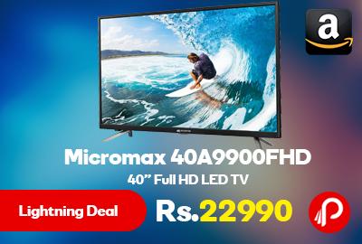 """Micromax 40A9900FHD 40"""" Full HD LED TV"""