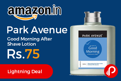 Park Avenue Good Morning After Shave Lotion