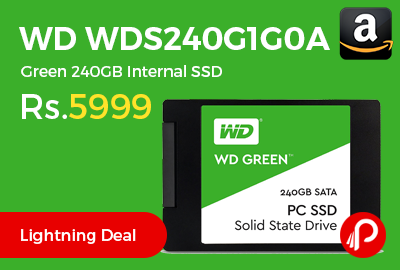 WD WDS240G1G0A Green 240GB Internal SSD