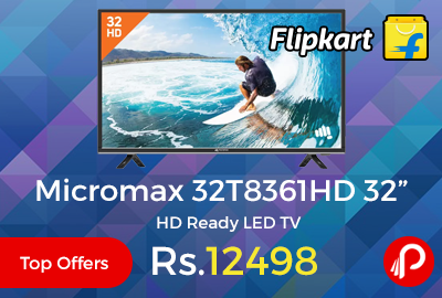 "Micromax 32T8361HD 32"" HD Ready LED TV"
