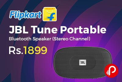 JBL Tune Portable Stereo Bluetooth Speaker