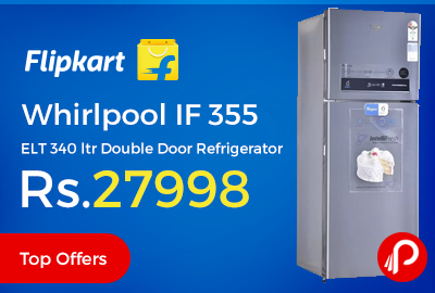 Whirlpool IF 355 ELT 340 ltr Double Door Refrigerator