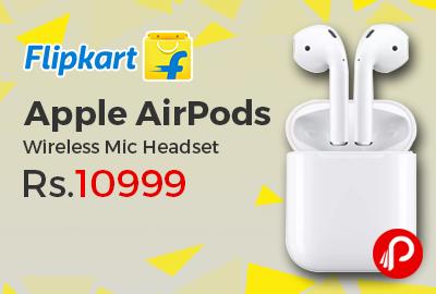 Apple AirPods MMEF2 Wireless Mic Headset