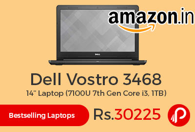 "Dell Vostro 3468 7100U 14"" Laptop"