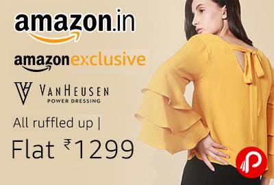 Van Heusen Ruffled up Women's Western Wear