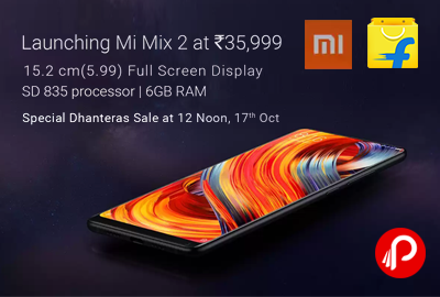 Mi Mix 2 4G VoLTE Mobile