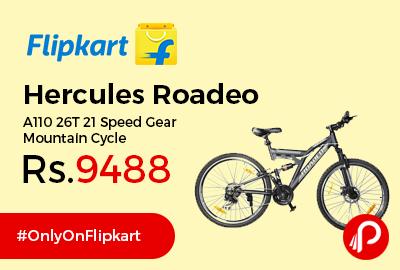 Hercules Roadeo A110 26T 21 Speed Gear Mountain Cycle