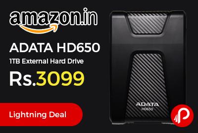 ADATA HD650 1TB External Hard Drive