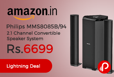 Philips MMS8085B/94 2.1 Channel Convertible Speaker System