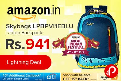 Skybags LPBPVI1EBLU Laptop Backpack
