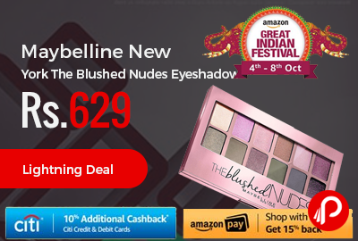 Maybelline New York The Blushed Nudes Eyeshadow