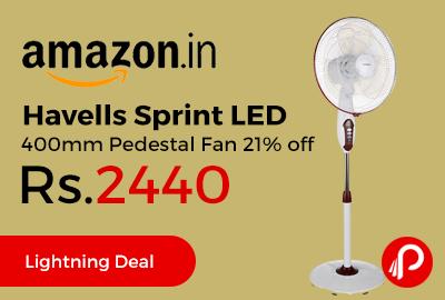 Havells Sprint LED 400mm Pedestal Fan