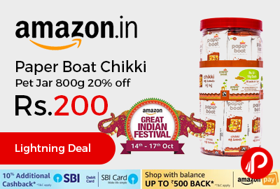 Paper Boat Chikki Pet Jar 800g