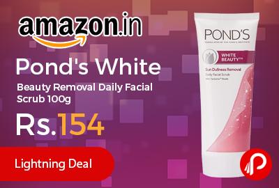 Pond's White Beauty Removal Daily Facial Scrub 100g