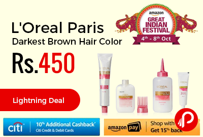 L'Oreal Paris Darkest Brown Hair Color