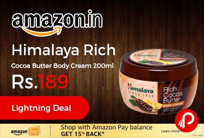 Himalaya Rich Cocoa Butter Body Cream 200ml