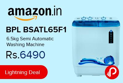 BPL BSATL65F1 6.5kg Semi Automatic Washing Machine