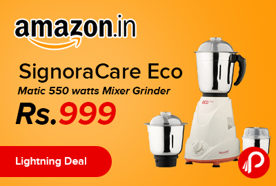 SignoraCare Eco Matic 550 watts Mixer Grinder