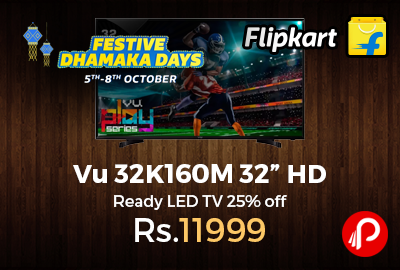 "Vu 32K160M 32"" HD Ready LED TV"