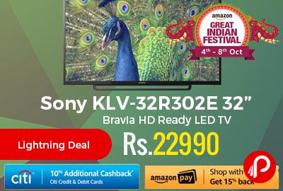 """Sony KLV-32R302E 32"""" Bravia HD Ready LED TV"""