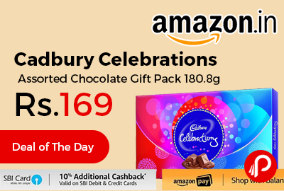 Cadbury Celebrations Assorted Chocolate Gift Pack 180.8g