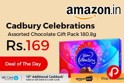 Cadbury Celebrations Assorted Chocolate Gift Pack 180.8g