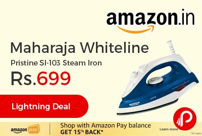 Maharaja Whiteline Pristine SI-103 Steam Iron