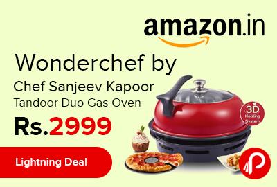 Wonderchef by Chef Sanjeev Kapoor Tandoor Duo Gas Oven