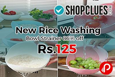 New Rice Washing Bowl Strainer