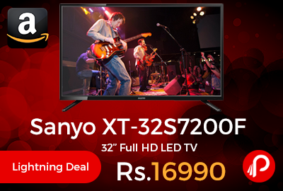 """Sanyo XT-32S7200F 32"""" Full HD LED TV"""