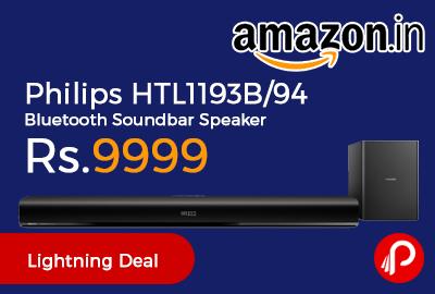 Philips HTL1193B/94 Bluetooth Soundbar Speaker
