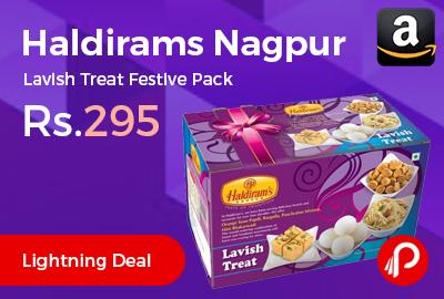 Haldirams Nagpur Lavish Treat Festive Pack