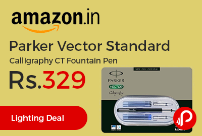 Parker Vector Standard Calligraphy CT Fountain Pen
