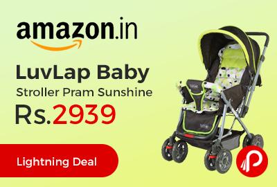 LuvLap Baby Stroller Pram Sunshine