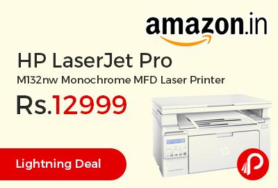 HP LaserJet Pro M132nw Monochrome MFD Laser Printer