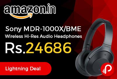 Sony MDR-1000X Wireless Hi-Res Audio Headphones