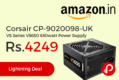 Corsair CP-9020098-UK VS Series VS650 650watt Power Supply